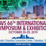 AVS 66th International Symposium & Exhibition 2019